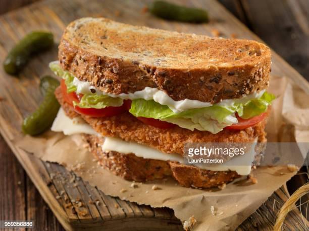 Breaded Pork Cutlet Sandwich