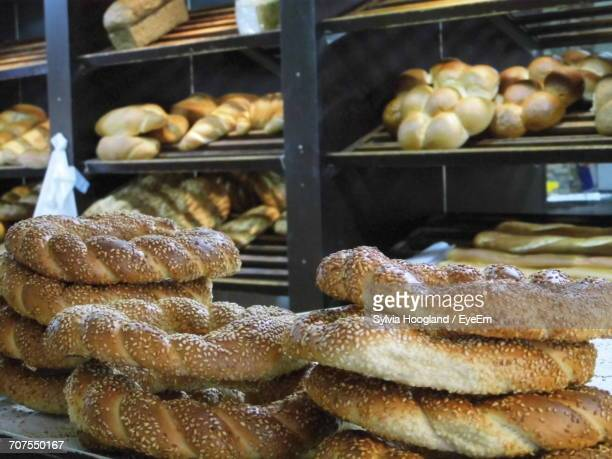 Breads For Sale At Bakery
