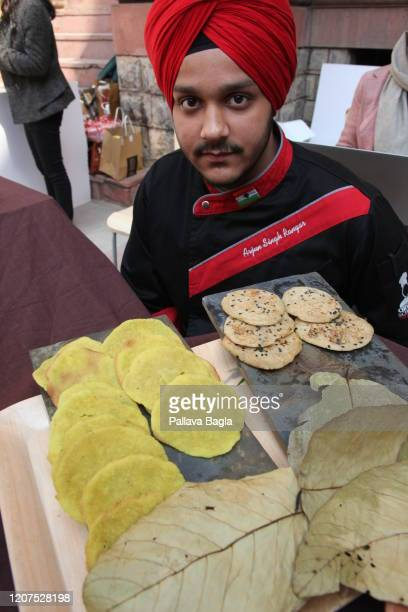 Breads from the Indus Valley civilisation recreated on February 20 2020 in New Delhi India What did humans eat 5000 years ago in one of the earliest...