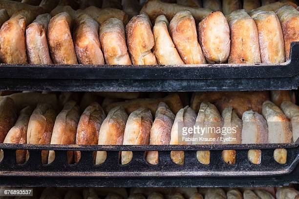 Breads On Shelf In Bakery For Sale