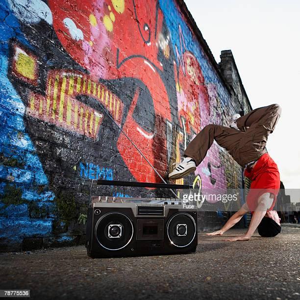 Break Dancer on Street