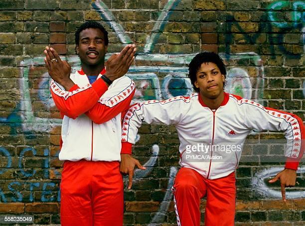 break dancers colin and venol London 1983