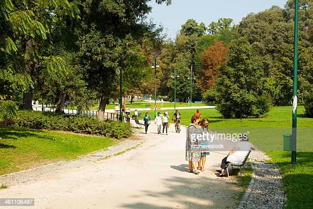 Pausa nel Parco Sempione