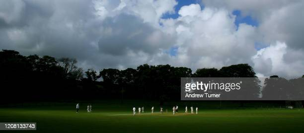 break in the clouds - england cricket stock pictures, royalty-free photos & images
