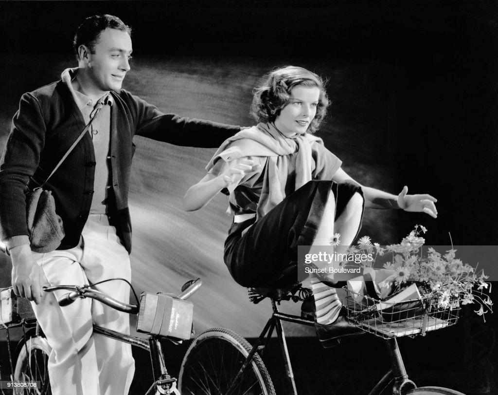Katharine Hepburn & Charles Boyer : News Photo
