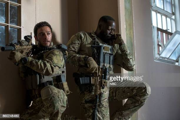 THE BRAVE 'Break Out' Episode 104 Pictured Hadi Tabbal as Agent Amir AlRaisani Demetrius Grosse as CPO Ezekiel 'Preach' Carter