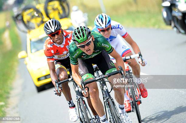 Breakaway during Stage Two of the Criterium du Dauphine on June 8 2015 in Le Bourget du Lac France