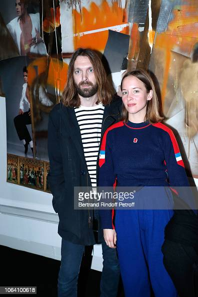 Breakbot and Capucine Delaby attend the Inauguration of