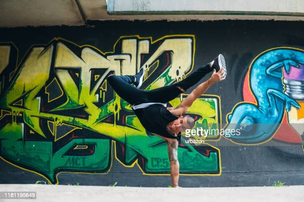 breakdance tricks - rap stock pictures, royalty-free photos & images