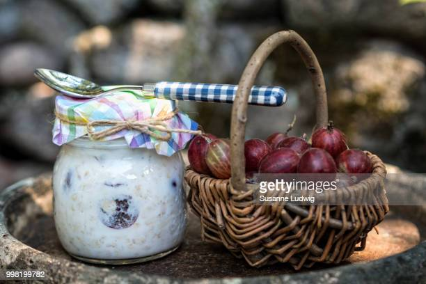 breakfast alfresco - susanne ludwig stock pictures, royalty-free photos & images