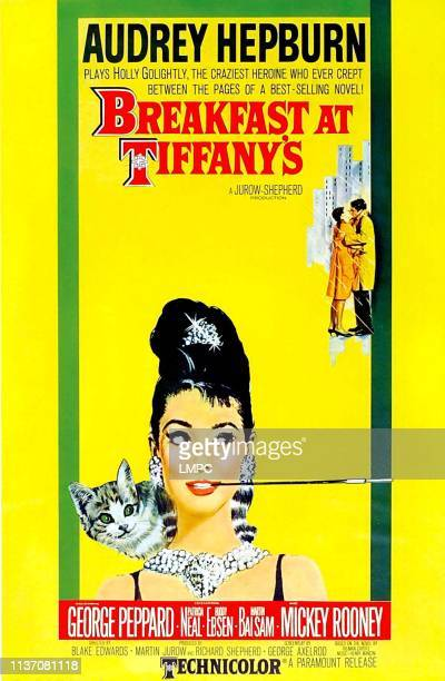 Breakfast At Tiffany's poster US poster Audrey Hepburn 1961