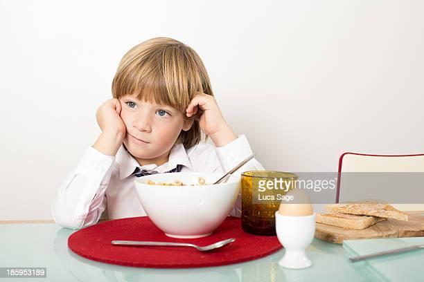 Breakfast before for School