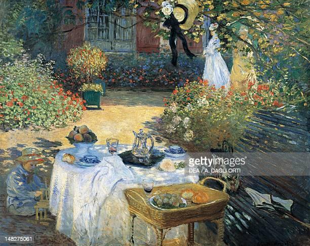 Breakfast by Claude Monet Paris Musée D'Orsay