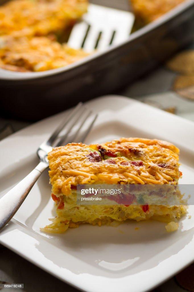 Breakfast Casserole : Stock Photo