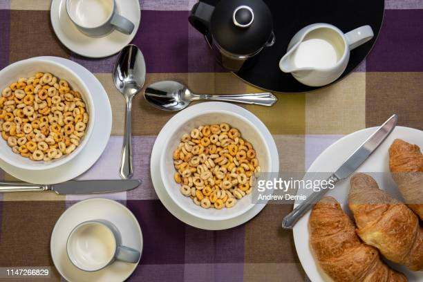 breakfast cereal - andrew dernie stock pictures, royalty-free photos & images
