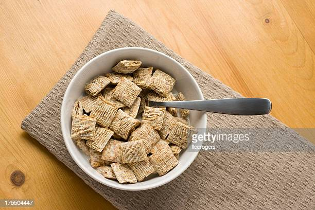 breakfast cereal - shredded stock pictures, royalty-free photos & images