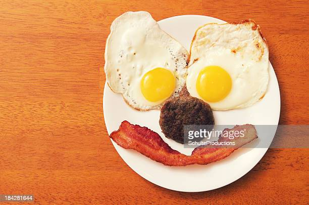 Breakfast Food with a Smile