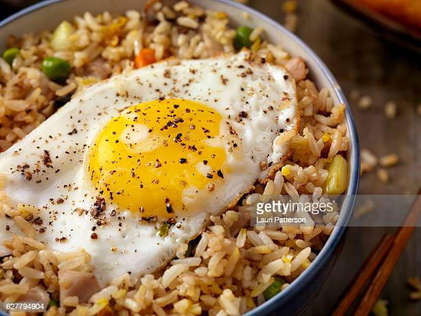 Breakfast Fried Egg with Rice