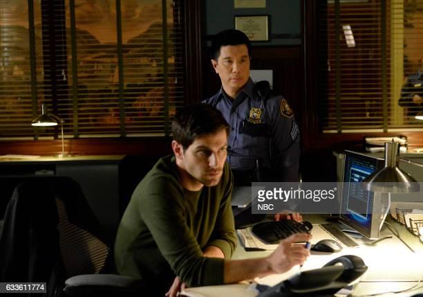 """Breakfast in Bed"""" Episode 606 -- Pictured: David Giuntoli as Nick Burkhardt, Reggie Lee as Sergeant Wu --"""
