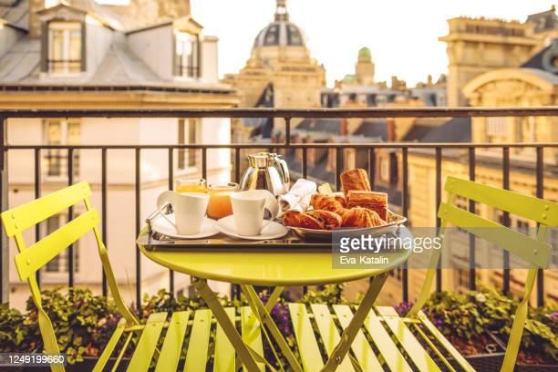 breakfast in paris - nice france stock pictures, royalty-free photos & images