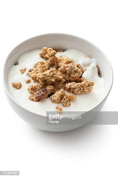 Frühstück Zutaten: Müsli
