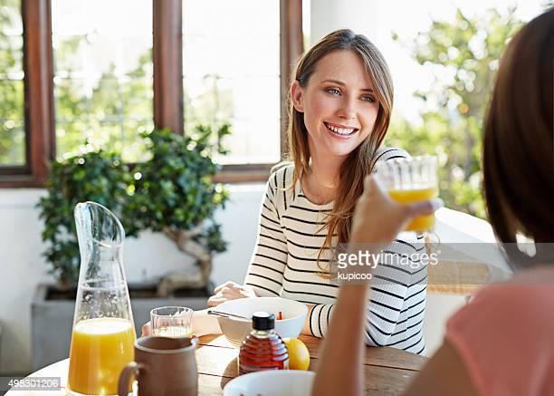 Frühstück ist besser mit Freunden