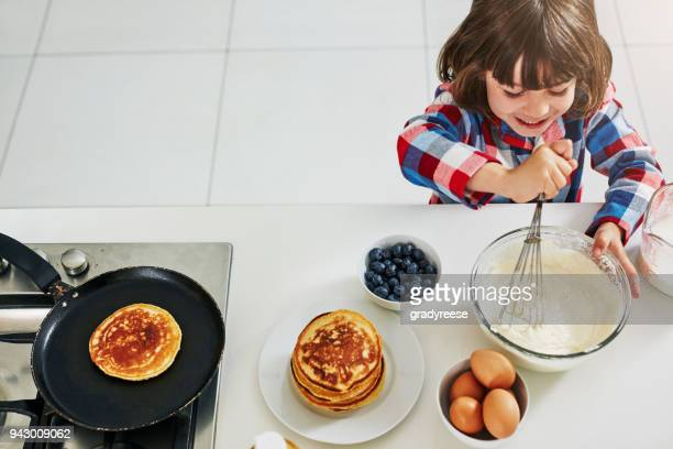 breakfast is the most important meal of the day - pancake stock pictures, royalty-free photos & images