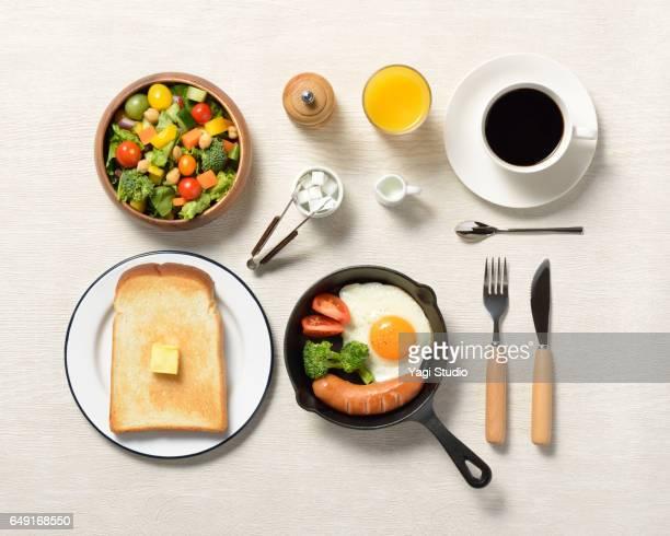 Breakfast Knolling style