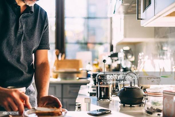 Breakfast Making in the Morning