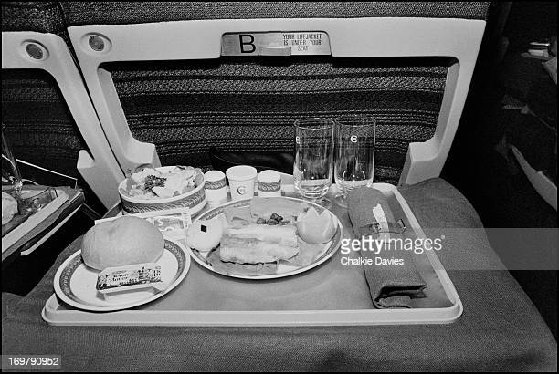 Breakfast on Concorde on Thin Lizzy's 1979 US tour