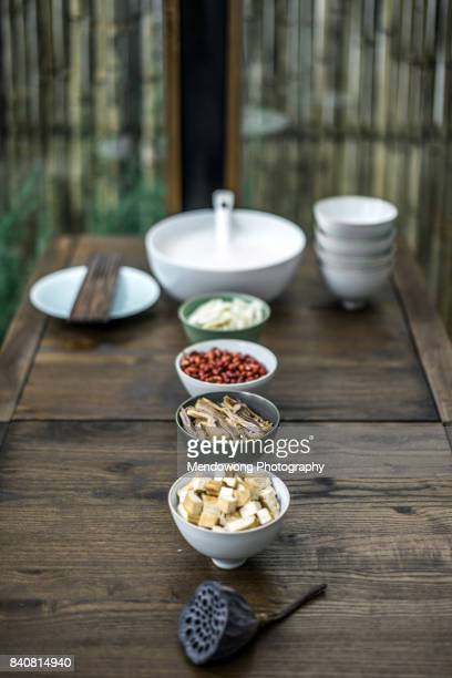 breakfast - yunnan province stock pictures, royalty-free photos & images
