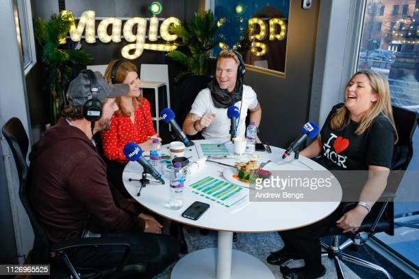 Breakfast show presenters Harriet Scott and Ronan Keating are joined by his Boyzone bandmate Keith Duffy during a special live broadcast of Magic...