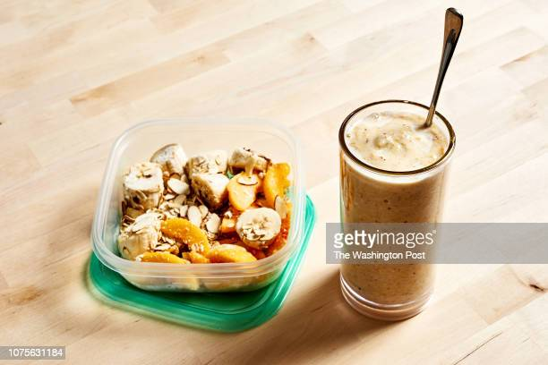 Breakfast smoothie packs photographed for Voraciously at The Washington Post via Getty Images in Washington DC