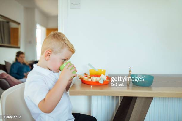 breakfast with a smile - freedom stock pictures, royalty-free photos & images