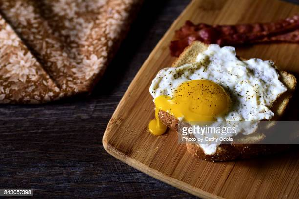 Breakfast with Egg and Toast