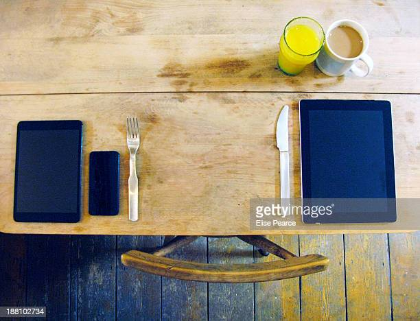 Breakfast with technology