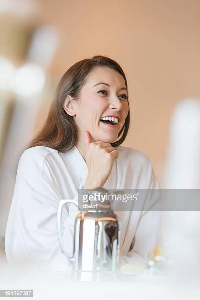 Breakfast Woman