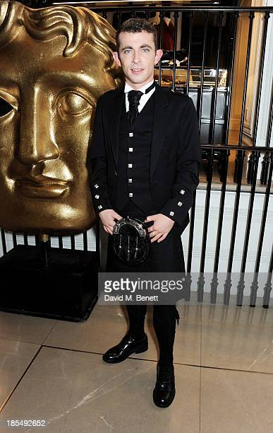 Breakhrough Brit Paul Brannigan attends the BAFTA 'Breakthrough Brits' event at Burberry 121 Regent Street London on October 21 2013 in London United...