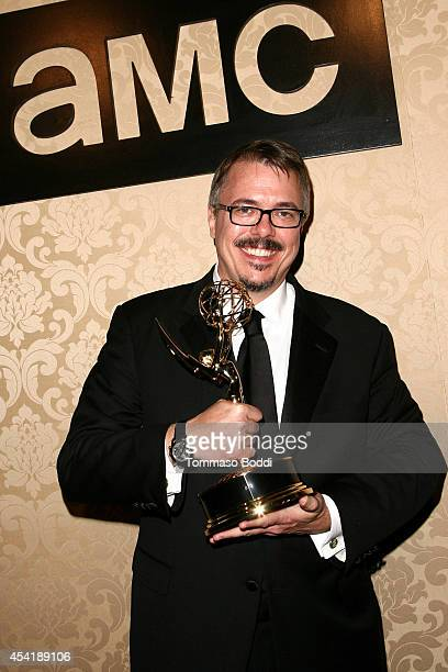 Breaking Bad creator Vince Gilligan attends the AMC IFC And Sundance Channel's Primetime Emmy Awards Party 2014 held at BOA Steakhouse on August 25...