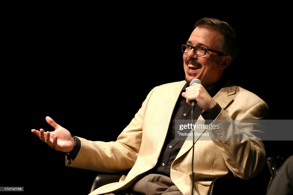 'Breaking Bad' creator Vince Gilligan onstage during Making Bad: An Evening with Vince Gilligan at Museum of Moving Image on July 28, 2013 in New York City.