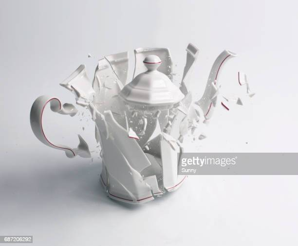 breaking cans - detonate stock photos and pictures