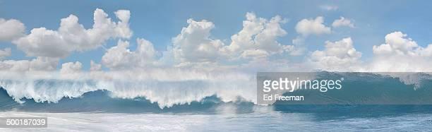 Breaking Wave Panorama