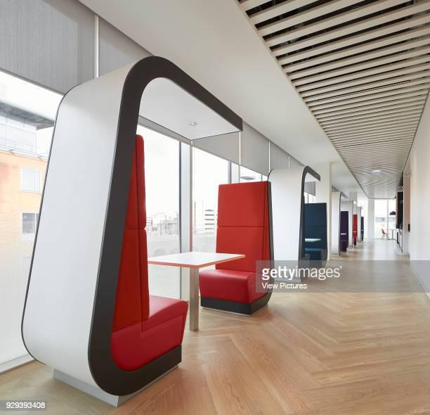 Breakout area KPMG Offices Leeds Leeds United Kingdom Architect Sheppard Robson 2015