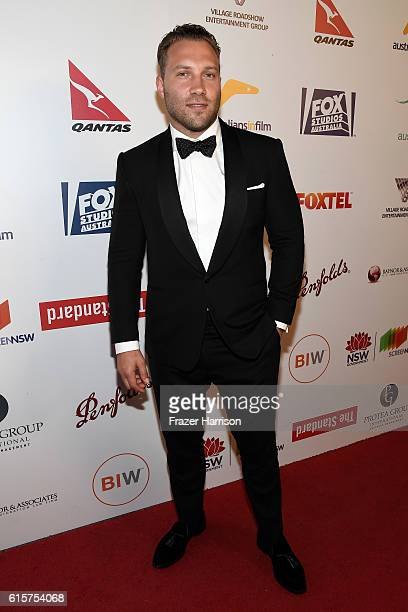 Breakthrough Award Recipient Jai Courtney attends Australians In Film's 5th Annual Awards Gala at NeueHouse Hollywood on October 19 2016 in Los...