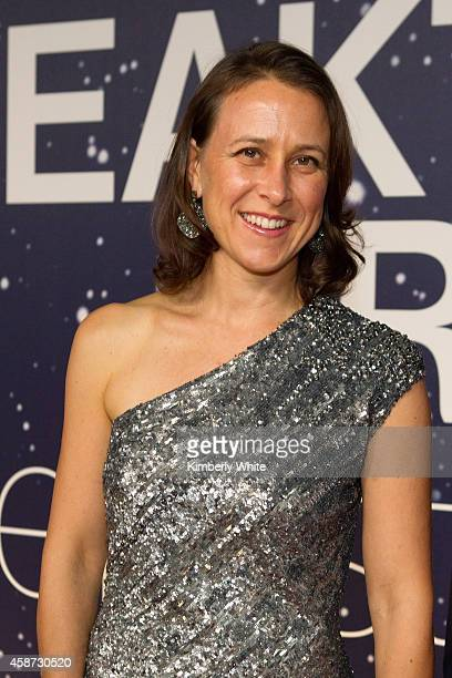 Breakthrough Prize CoFounder Anne Wojcicki attends the Breakthrough Prize Awards Ceremony Hosted By Seth MacFarlane at NASA Ames Research Center on...