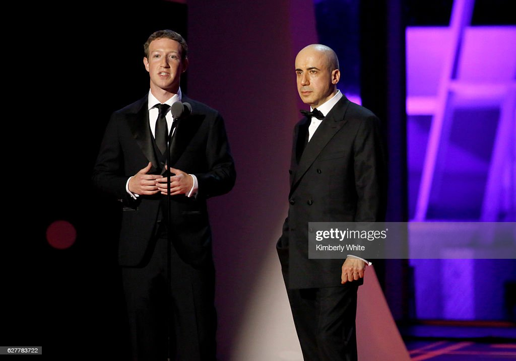 2017 Breakthrough Prize - Show : News Photo