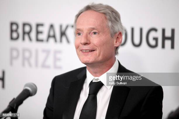 Breakthrough Prize in Mathematics Laureate James McKernan attends the 2018 Breakthrough Prize at NASA Ames Research Center on December 3 2017 in...