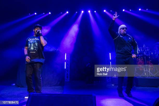 Real and Sen Dog from Cypress Hill perform at O2 Academy Brixton on December 05 2018 in London England