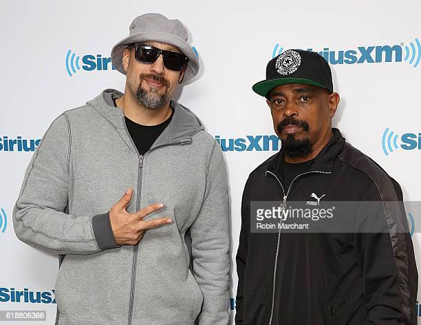 Real and Sen Dog of Cypress Hill visits at SiriusXM Studio on October 28 2016 in New York City