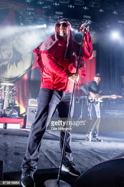 Real of Cypress Hill and Tom Morello of Rage Against The Machine perform as part of Prophets of Rage live on stage at the O2 Forum Kentish Town on...